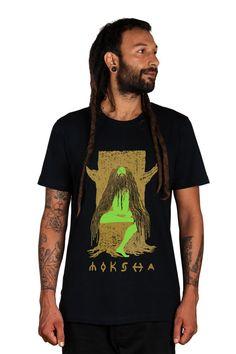 Nirvana T shirt Moksha T shirt Indian Yogi T shirt by CreativeCult