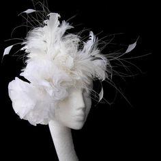 Cream Fascinator Hat By Hatsbycressida On Etsy 100 00