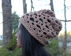 The People's Choice Slouchy Beanie in Camel Custom by Threadmill, $29.00