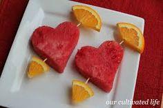 healthy valentines snacks - Google Search