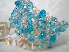 Aquamarine Blue Bracelet