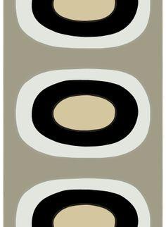 Melooni HW cotton fabric by Marimekko Finland Textile Patterns, Textile Design, Fabric Design, Print Patterns, Textiles, Pattern Art, Pattern Design, Arabesque, Marimekko Fabric