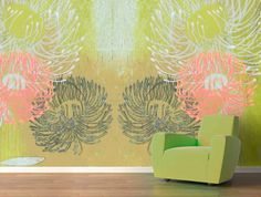 Decorate your walls and enjoy the sweet aroma of the flowers in this mural wallpaper design by Jennifer Davis. Description from thewallery.com. I searched for this on bing.com/images