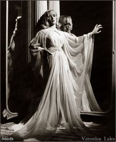 Veronica Lake in I MARRIED A WITCH (1942). Beautiful gown!