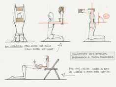shoulder alignment / hold arms shoulder width apart / préparation-epaules-blocs