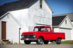 Nothing like a fully restored classic Ford pickup hot rod! VIDEO: 1966 Ford F100