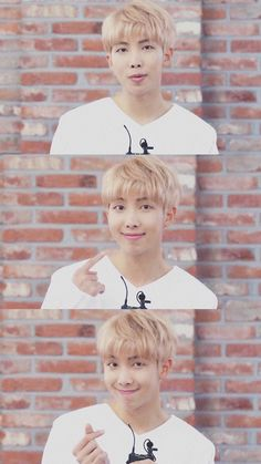 WHEN PPL SAY NAMJOON ISNT CUTE I SHOW THEM THIS