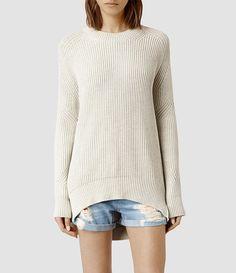 AllSaints Quinta Cotton Sweater