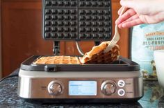 3 Tips for Making Crispy Waffles ~ Three easy tips for perfectly crispy waffles, every time.  ~ SimplyRecipes.com