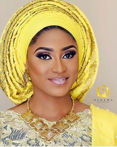 Stunning glam by @oshewabeauty #asoebispecial #asoebi #speciallovers #makeup #wedding  Fabrics @bunniebees_fabrics