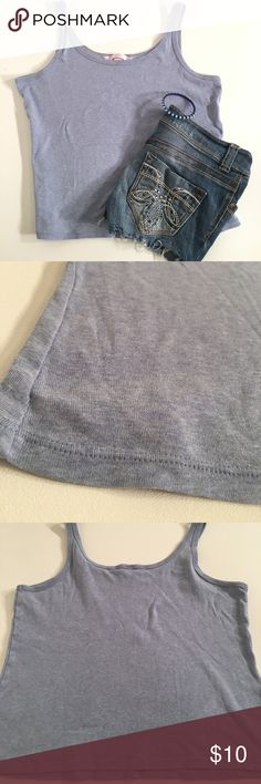 Victoria's Secret soft tank blue large The first picture is a very true color. Soft tank Victoria's Secret Tops Tank Tops
