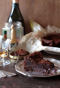Divino Macaron flourless chocolate torte.  To die for.