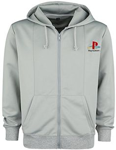 310738a7a456 Meroncourt Sony Playstation Ps One Full Length Zipper Hoodie