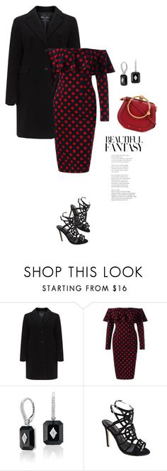"""""""lady in polka dots"""" by mycherryblossom ❤ liked on Polyvore featuring Chloé"""