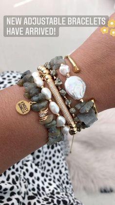 Armelle, Druzy Jewelry, Adjustable Bracelet, Handmade Jewelry, Beaded Bracelets, Bling, Ads, Accessories, Business