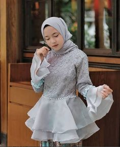 See More – Hijab Fashion 2020 Kebaya Modern Hijab, Kebaya Hijab, Kebaya Muslim, Dress Muslim Modern, Muslim Dress, Model Kebaya Modern Muslim, Kebaya Lace, Kebaya Dress, Muslim Fashion