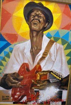 """Bluesman""Jon Onye Lockard~ Ann Arbor, Ypsilanti MI"