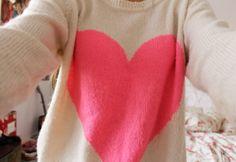 Cute Heart Jumper ♥