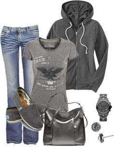 So comfy... | Street Fashion