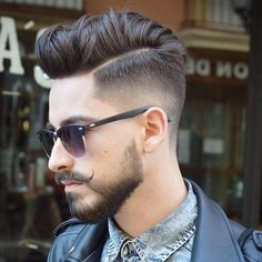 """MEN'S FASHIONS & STYLE on Instagram: """"Check out ✔@MensHairs and choose your hairstyle By: @virogas.barber ✂"""""""