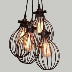 Lampa Multi Cage Round