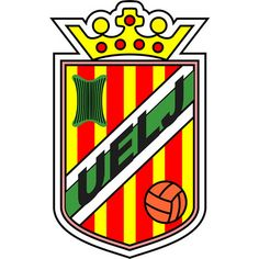 UE La Jonquera (La Jonquera, Cataluña, España) #UELaJonquera #LaJonquera #Catalonia (L19035) Football Team Logos, Sports Clubs, Soccer, Badges, Spanish, San, World, Football Team, Logos