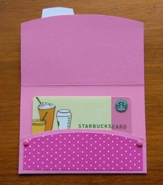 BIRTHDAY Gift Card Holders Handmade goodness for store bought giftcards. $2.00, via Etsy.