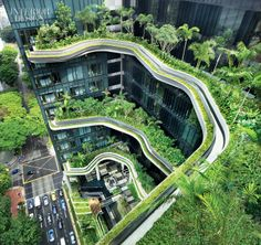 Park Royal Hotel on Pickering in Singapore by WOHA