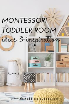 How to Design the Perfect Montessori Toddler Room - The Toddler Playbook - Looking for Montessori room or nursery ideas for toddlers? Check out these Montessori toddler bedro - Montessori Ikea, Montessori Toddler Bedroom, Whimsical Bedroom, Toddler Furniture, Dressing Room Design, Parents Room, Kids Bedroom, Toddler Bedroom Ideas, Toddler Room Decor