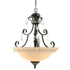 Dolan Designs Bowl Pendant from the Florence Collection Phoenix Indoor Lighting Pendants Bowl Shaped Bronze Pendant Light, Glass Pendant Light, Glass Pendants, Pendant Lighting, Chandelier, Fashion Lighting, Lighting Store, Florence, Ceiling Lights