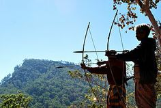 Archer in East Timor