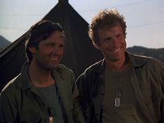 "M*A*S*H: Season 1, Episode 9 Henry, Please Come Home (19 Nov. 1972) Hawkeye"" Pierce, Alan Alda, Trapper John McIntyre, Wayne Rogers, mash,"