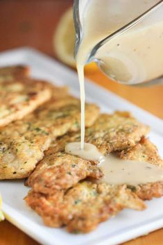 The Best Ever Chicken Francese Recipe - Kelly Molina Recipes Meat Recipes, Chicken Recipes, Cooking Recipes, Healthy Recipes, Turkey Recipes, Cooking Fish, Cooking Pork, Easy Cooking, Healthy Cooking