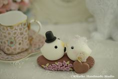 love bird with branch and flowers Wedding Cake Topper | Flickr - Photo Sharing!