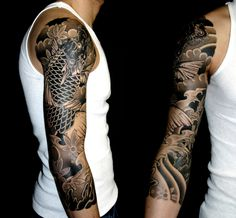 Image from http://www.lucaortis.com/wp-content/uploads/2012/03/koi-dragon-black-and-grey1.jpg.