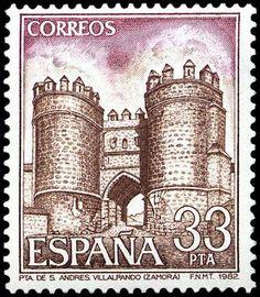 Puerta San Andres Villalpando (Zamora) - 1982