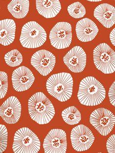 Lotta Jansdotter Moira Apricot Fabric