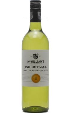 McWilliams Inheritance Semillon Sauvignon Blanc 2018 New South Wales - 12 Bottles White Sauce Pasta, Green Highlights, Wine Vineyards, Sauvignon Blanc, South Wales, Bottles, Fruit, White Wines, Wineries