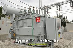 The noise level of a substation power transformer is function of MVA and BIL rating of the high voltage winding. Transformers generate a noise level Step Down Transformer, Current Transformer, Electrical Substation, Isolation Transformer, Education Sites, Concrete Pad, Home Tech, Electrical Connection, Noise Levels