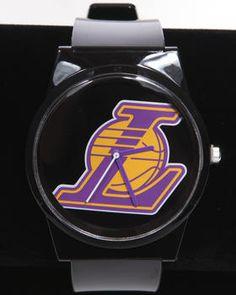 FLUD | Los Angeles Lakers Pantone Nba Flud Watch. Get it at DrJays.com
