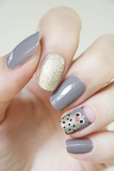 37 Snatching Nail Designs You Have To Try In 2020 - If you are into your nails . - 37 Snatching Nail Designs You Have To Try In 2020 – If you are into your nails telling a story, then try out a set of fantasy nails. Thanksgiving Nail Designs, Thanksgiving Nails, Christmas Nail Designs, Halloween Nail Designs, Halloween Nail Art, Christmas Nails, Owl Nail Art, Owl Nails, Minion Nails