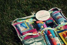 Bridal Shower gift- Wedding Emergency Kit for the Bride.