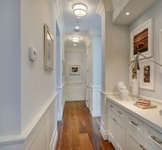 Image result for hallway lighting