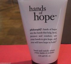 Brand NEW Philosophy Hands Of Hope 120ml/ 4 oz ounce Hand and Cuticle cream #Philosophy