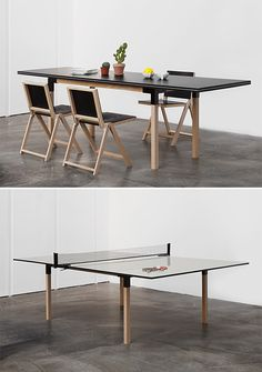 An Outdoor Ping Pong Table For Design Lovers | Ping Pong Table, Charles  Eames And Game Rooms
