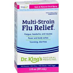 King Bio Homeopathic Multi-strain Influenza - 2 Fl Oz