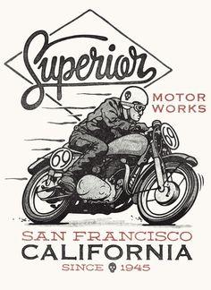 Superior Motorworks on Behance