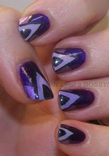 Purple Art Deco