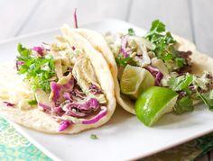 roast chicken tacos with cilantro cream 1