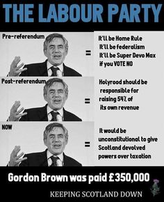 Good old ex-MP Gordo.